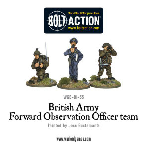 Bolt Action: British Army Forward Observer Team