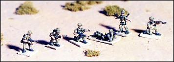 WWII Afrika Korps Individual Infantrymen - G507