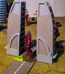 Battletech Movement Markers - Colored Acrylic (10 sets)