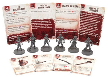 The Walking Dead: All Out War Walker Booster Expansion