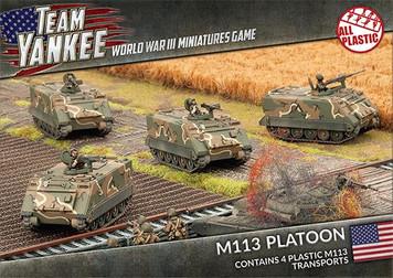 Team Yankee:  M113 Platoon (Plastic)