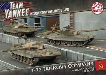 Team Yankee:  T-72 Tankovy Company (Plastic)