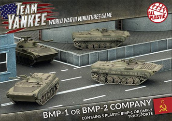 Team Yankee:  BMP-1 or BMP-2 Company (Plastic)