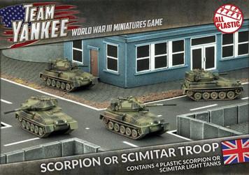 Team Yankee:  Scorpion/Scimitar Platoon (Plastic)