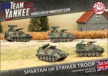 Team Yankee:  Spartan/Striker Platoon (Plastic)