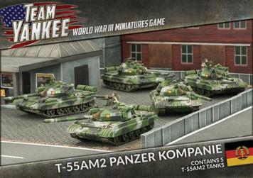 Team Yankee:  T-55 AM2 Panzer Kompanie (x 5)