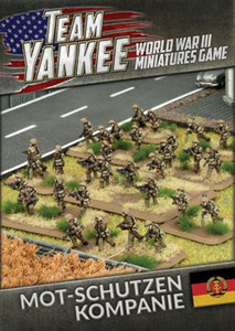 Team Yankee:  East German Mot-Schutzen Kompanie (73 figures)