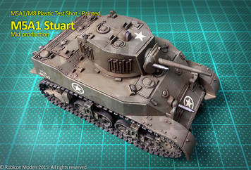 M5A1 Stuart / M5A1 Recce (1:56th scale / 28mm)