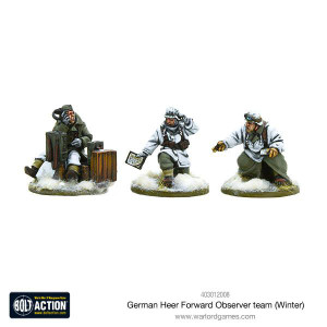 Bolt Action: German Heer Forward Observer Team