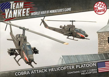 Team Yankee:  Cobra Attack Helicopter Platoon (Plastic)