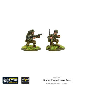 Bolt Action: US Army flamethrower team