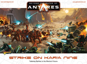 Beyond the Gates of Antares Strike on Kar'A Nine - Starter Set