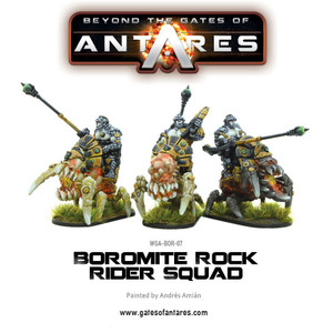 Boromite Rock Rider Squad (3 Fig Set)