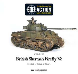 Bolt Action: British Sherman Firefly  Tank