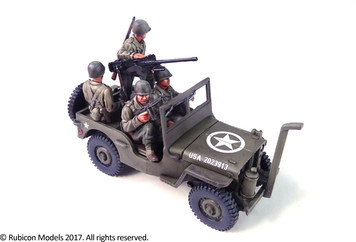 Willys MB Jeep 1/4 ton 4x4 Truck (US Standard)  (1:56th scale / 28mm)