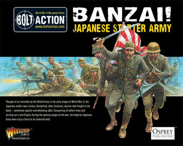 Bolt Action: Banzai! 1,000pt Imperial Japanese Army starter army