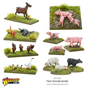 Warlord Games: Farm Animals (small)