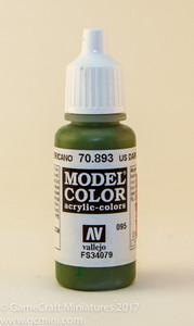 Vallejo Model Color: US Dark Green