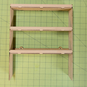 "Hanging Shelf Unit (10"" Wide - 3 Shelves)"