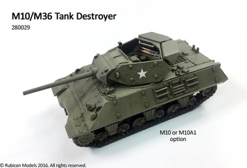 Rubicon Models M10 Wolverine / M36 Jackson