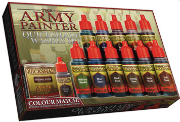 Army Painter Quickshade Washes Set