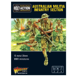 Bolt Action: Australian Militia Infantry Section