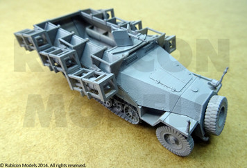 Rubicon Models - German WW2 SdKfz 251/1 Ausf D Stuka zu Fuss