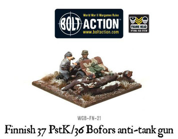 Bolt Action: Finnish 37 PstK/36 Bofors anti-tank gun