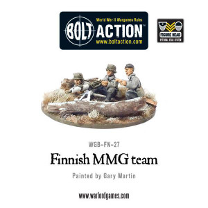 Bolt Action: Finnish MMG team