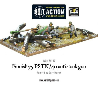Bolt Action: Finnish 75 PSTK/40 Anti-Tank Gun