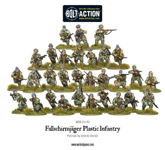 Bolt Action: Fallschirmjager (plastic box)