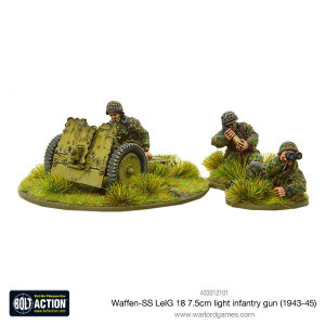 Bolt Action: Waffen SS LeIG 18 7.5cm light infantry gun