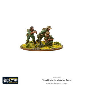 Bolt Action: Chindit Medium Mortar team