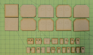 Lots Of 20mm Sci-Fi  Doors - 20MMDF403