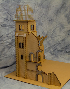 "28mm ""Saving Private Ryan"" Church Bell Tower - 28MMDF600"