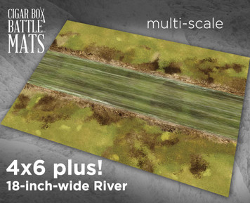 "Battle Mat - River 18"" Wide"