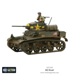 Bolt Action: US M3 Stuart Light Tank