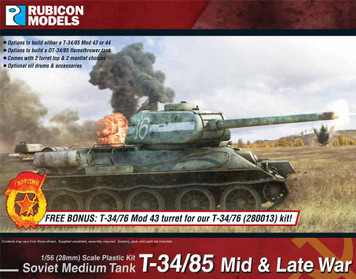 Rubicon Models T-34/85 ‰ÛÒ Mid & Late War