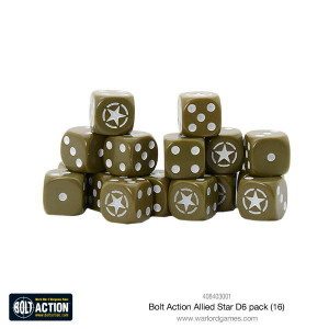 Bolt Action: Allied Star D6 Pack