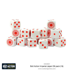 Bolt Action: Imperial Japanese D6 Pack