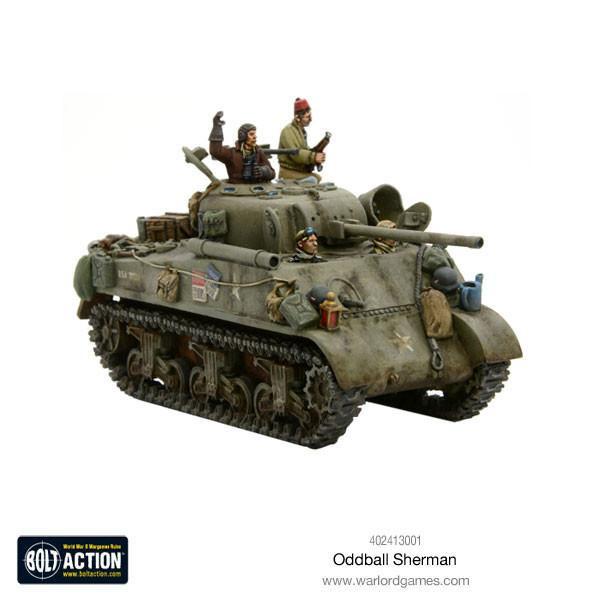c958145dfc6a0 Bolt Action  Kellys Heroes Oddball Sherman - GameCraft Miniatures