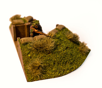 45 Degree Corner Trench Section (28mm Scale)