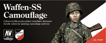 Model Color Set: Waffen SS Paint Set (8)