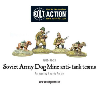 Bolt Action: Soviet Army Dog Mine anti-tank teams