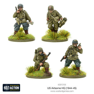 Bolt Action: US Airborne HQ (1944-45)