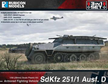 SdKfz 251D 3-in-1 Set 1