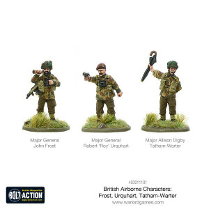 Bolt Action: British Airborne Characters