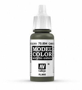 Vallejo Model Color: Camouflage Olive Green (AKA Russian Green)