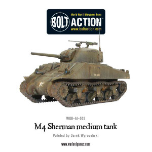 Bolt Action: M4 Sherman medium tank (plastic)