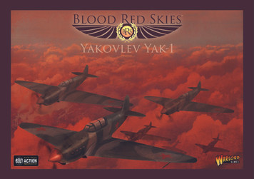 Blood Red Skies: Soviet Yak1 - Squadron